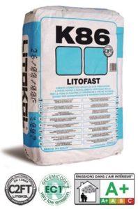 LITOFAST K86 цементный клей быстрого схватыван