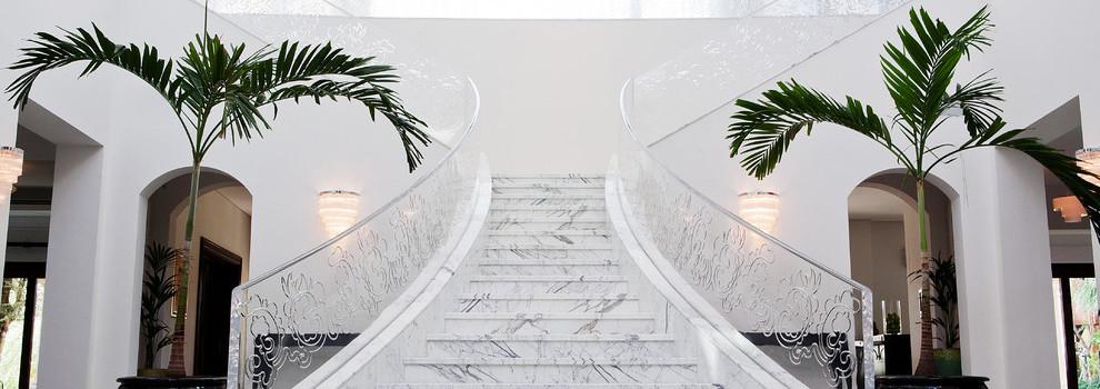 Лестница из мрамора №1