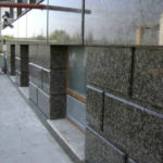 Basement made of granite