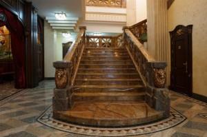 Лестница из мрамора №8